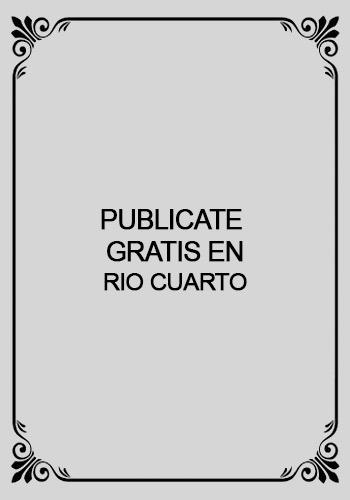 Escort Publicate en Rio Cuarto Sierrascalientes 01